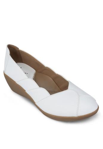 拼接厚底休閒鞋,zalora 內衣 女鞋, 涼鞋
