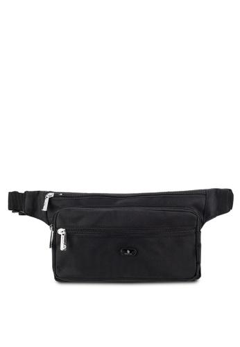 Swiss Polo black Swiss Polo Waist Bag SW912AC77DRIMY_1