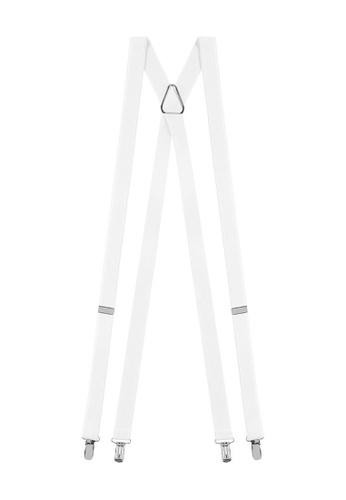 Buckle white Plain X-Back Braces BA1CBACB321222GS_1