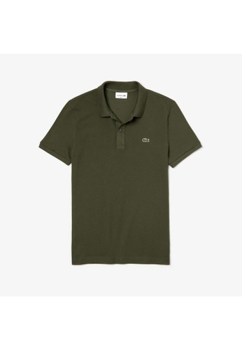 Lacoste Lacoste Men's Mini Pique Stretch Polo 50DBEAACF8A965GS_1