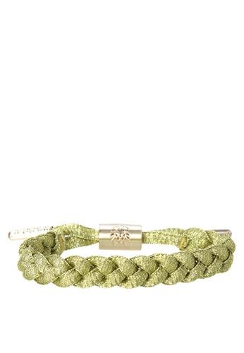 Rastaclat gold Shoelace Bracelet Mini: Fever (Gold/Brushed Hardware/Emblems) RA072AC0ISBZPH_1