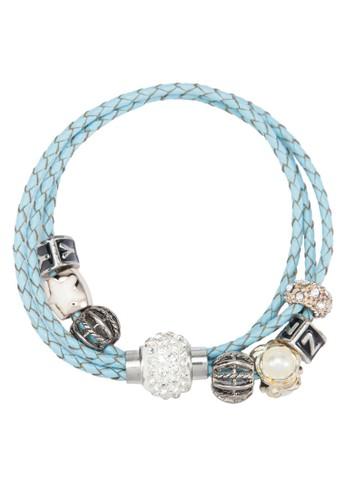 編織皮革手環, 飾品配件, 飾esprit mongkok品配件