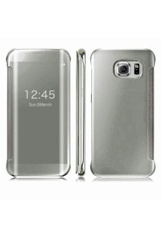 Clear Flip View Cover for Samsung Galaxy S6 Edge Plus