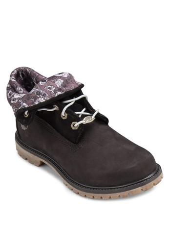 Timberland Authentics 印花翻領zalora退貨靴, 女鞋, 鞋