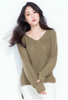 Fuzzy Coziness Knit Sweater - Camel