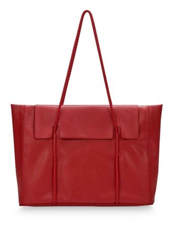 KWANI brown Norah Bag Medium Red E51B4ACC021FFAGS_1
