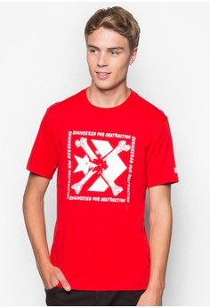 【ZALORA】 Converse Star Chevron 圖文設計T 恤