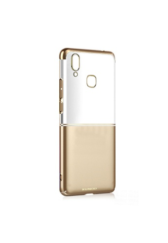 MobileHub gold Xundd Waltz Series Case for Vivo Y85 85A49AC8C3306AGS_1