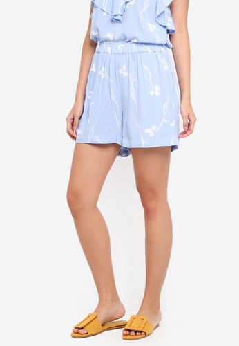 Y.A.S blue Yasclover Nw Shorts 97D67AAB005B5BGS_1