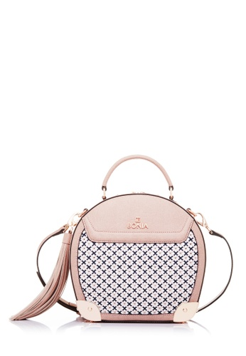 BONIA pink Blush Stitches Sonia BO777AC19UOEMY_1