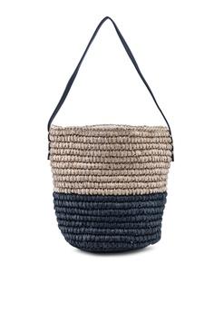 2870d7f48 Violeta by MANGO beige Braided Bucket Bag 0FD17ACD3EDC8CGS_1