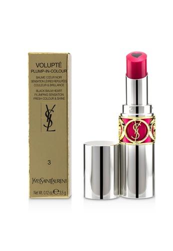 Yves Saint Laurent YVES SAINT LAURENT - Volupt Plump In Colour Lip Balm - # 03 Insane Pink 3.5g/0.12oz 1944EBEC5A0F72GS_1