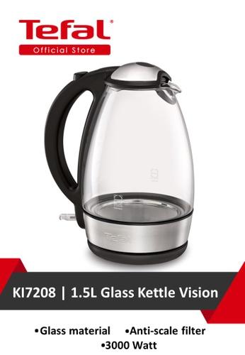 TEFAL Tefal 1.5L Glass Kettle Vision KI7208 D4723HL289EBE9GS_1