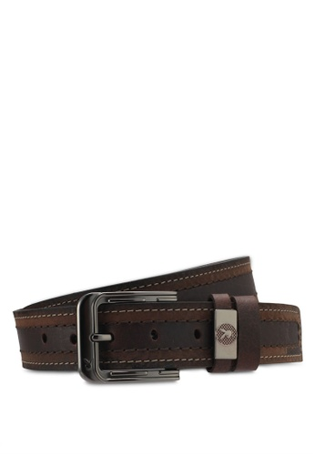 Playboy brown Playboy 40mm Belt PL371AC0SMBUMY_1