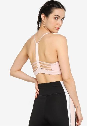 PUMA pink Low Impact Strappy Women's Training Bra 7BB20US7194D85GS_1