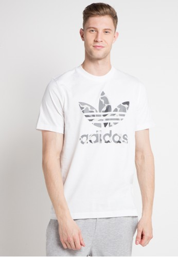 adidas white adidas originals camouflage trefoil tee 00253AA02D1B30GS_1