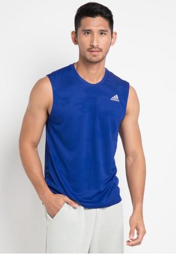 adidas blue adidas response tee 52DA8AA2E45A6DGS_1