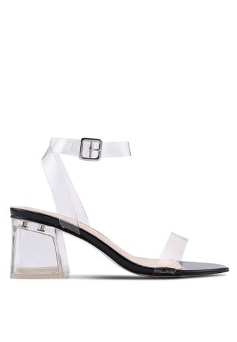 Public Desire black Afternoon Low Heels D9394SHE6C3DBFGS_1