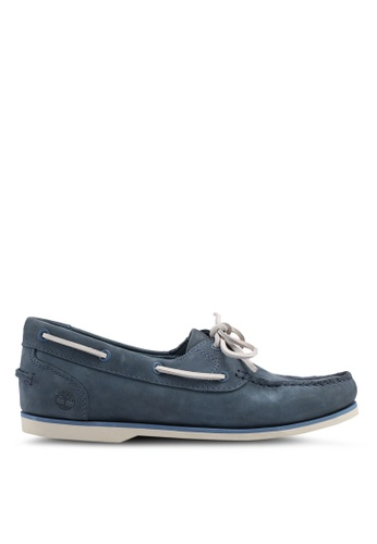 Timberland blue Classic Boat Unlined Boat Shoes 5199FSH5769B67GS_1