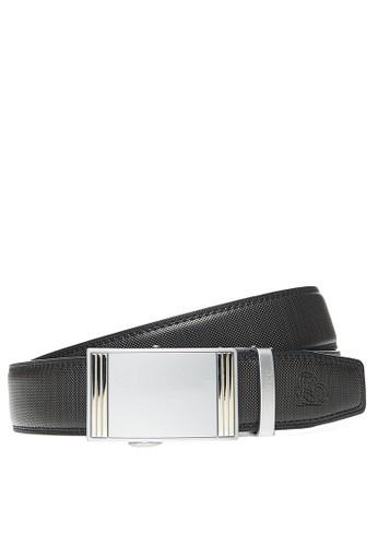 Adobree black Adobree Oxisols Col.09 Belt 3.5 R - Silver Black 04C95AC93FF0ECGS_1