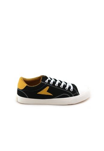 BATA [Kurt Cobain Signature Sneakers] Bata Heritage Hotshot Classic Men Black Sneakers - 8286106 F06C3SH7C52519GS_1