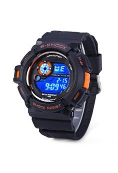 Military LED Water Resistant Sports Wristwatch SKM-0939