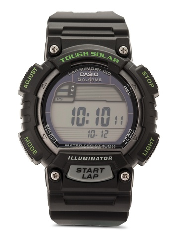 Casio black Casio Tough Solar Watch CA843AC40VILMY_1