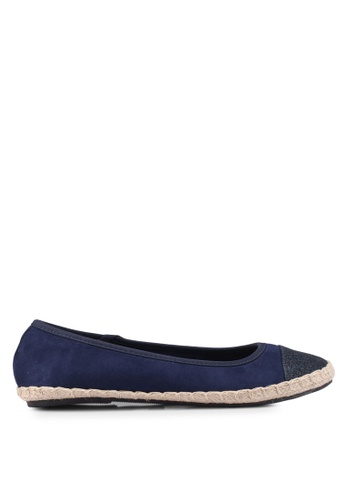 Dorothy Perkins navy Wide Fit Navy Carrie Espadrilles DF0CASH9808D5DGS_1