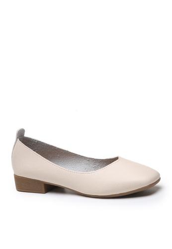 Twenty Eight Shoes white Basic Square Toed Ballerinas VL655 C24D1SH1407C64GS_1