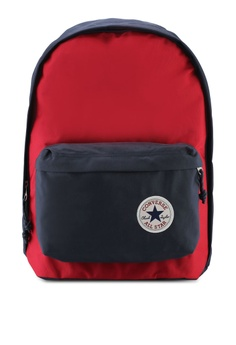 18a3135449 Converse red and navy Converse All Star Core Seasonal Color Backpack  2FFA7AC62ECFA1GS_1