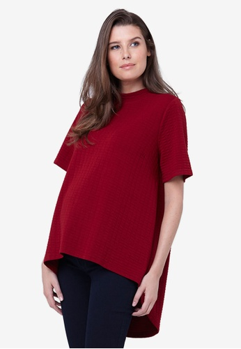 Ripe Maternity red Maternity Mon Cherie Swing Top CD8EFAAF697C28GS_1