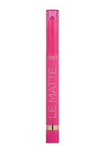 L'Oréal Paris pink L'oreal Paris Le Matte 108 Matte-R Of Fact - Burgundy C161EBE5BB7EA9GS_1