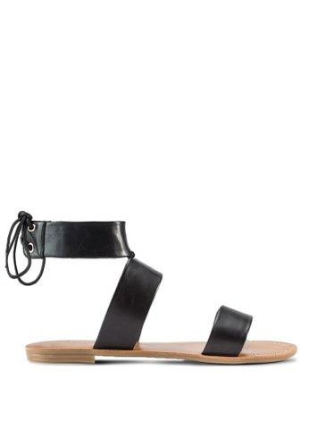 Call It Spring black Terrytown Sandals CA512SH08GWTMY_1