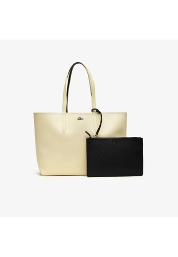 Lacoste black Lacoste Women's Anna Reversible Bicolour Tote Bag NF2142AA 07004ACDE2428BGS_1