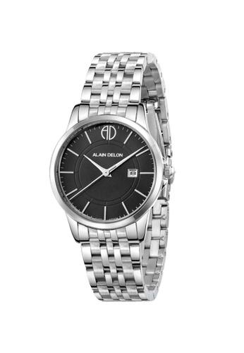 Alain Delon silver Alain Delon Women AD328-2332 Silver Stainless Steel Watch C0F9FAC0A86761GS_1