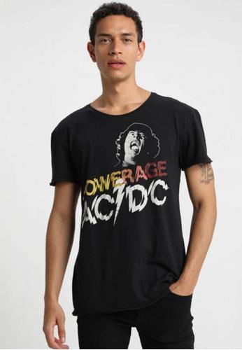 Gipsy 黑色 ACDC聯名款T恤-怒吼主唱 ABDA4AA9CD0AD1GS_1