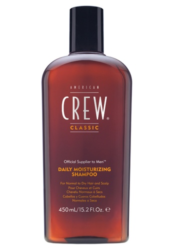 American Crew brown American Crew Daily Moisturizing Shampoo (450ml) AM098BE84MSTMY_1