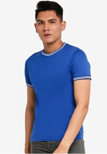 Brave Soul multi Crew Neck Rib T-Shirt 2A5F9AA6938698GS_1