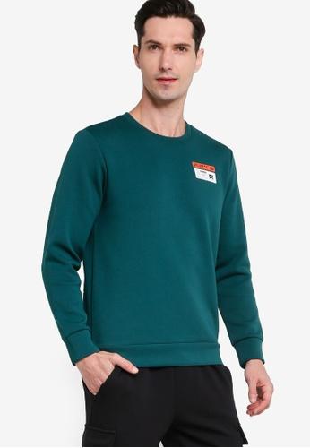 361° green Sports Life Turtleneck Sweater A8EBEAA25CB307GS_1