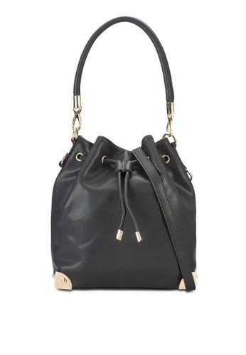 金屬飾水桶手提包、 包、 包SomethingBorrowed金屬飾水桶手提包最新折價