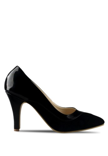 CLAYMORE black Claymore sepatu high heels B 710B - Black CL635SH41MJMID_1