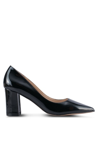 addicts anonymous black Alice Metallic Chunky Classic Heels AD479SH0SR5BMY_1