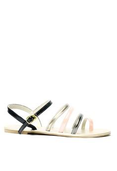 Camille Single-Toe Flats Sandals