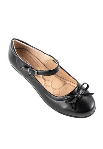 Otto black Velcro Strap Shoes DBB6CSH2F46BFAGS_1