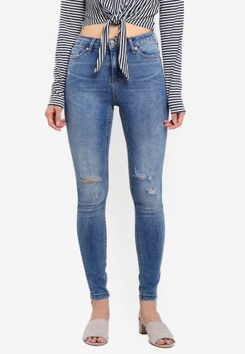 Miss Selfridge blue Fresh Blue Atol Lizzie Jeans B2AC0AAF316E36GS_1