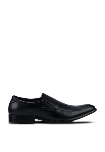 UniqTee black Slip On Formal Shoes BD4A5SHB9CCE70GS_1