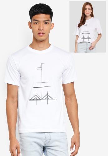 Klozet Kuala Lumpur white Identimerty T-Shirt (Penang) KL475AA0SRMTMY_1