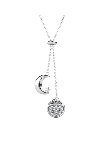 Her Jewellery white Her Jewellery Meteor Pendant (White Gold) with Premium Grade Crystals from Austria 40755ACC0769C8GS_1