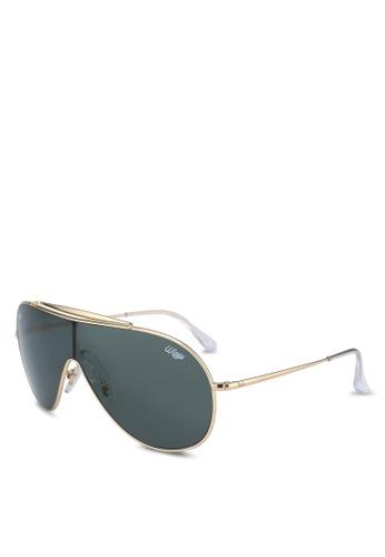 Ray-Ban 金色 RB3597 Sunglasses 79281GL13B2247GS_1