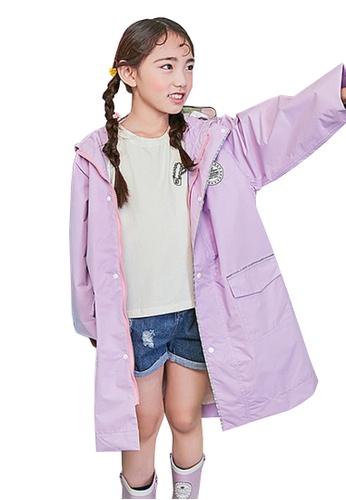 Twenty Eight Shoes purple VANSA  Stylish Soild colour Raincoat VCK-R17673 8B41DKA1FB0C2FGS_1